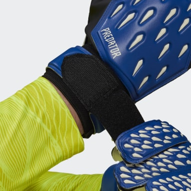 Soccer Blue Predator Training Goalkeeper Gloves