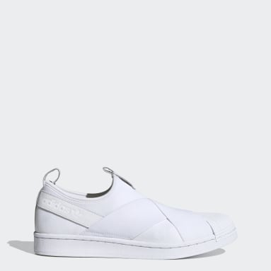 Originals White Superstar Slip-On Shoes