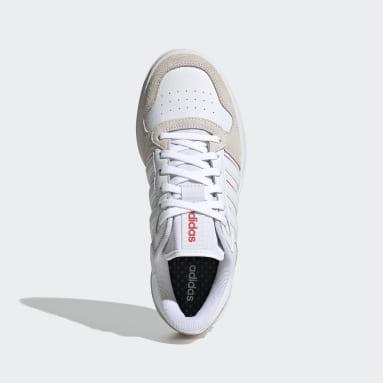 Zapatillas Breaknet Plus Blanco Mujer Diseño Deportivo
