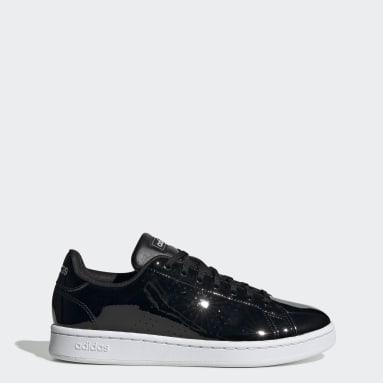 Women Walking Black Advantage Shoes