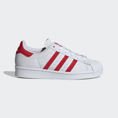 Chaussure Superstar blanc Adolescents Originals