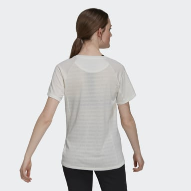 Women Running White Made To Be Remade Running T-Shirt