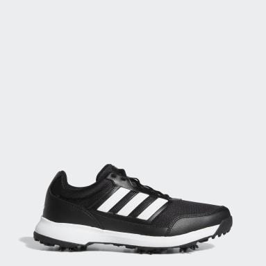 Men Golf Black Tech Response 2.0 Golf Shoes