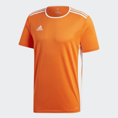 Men Gym & Training Orange Entrada18 Jersey
