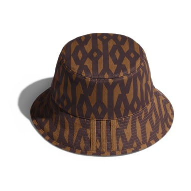 Originals Brown Reversible Monogram Bucket Hat