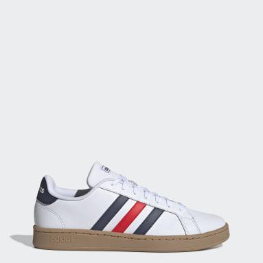 Zapatillas Grand Court Blanco Hombre Essentials