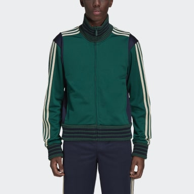 Men Originals Green Wales Bonner Lovers Track Top