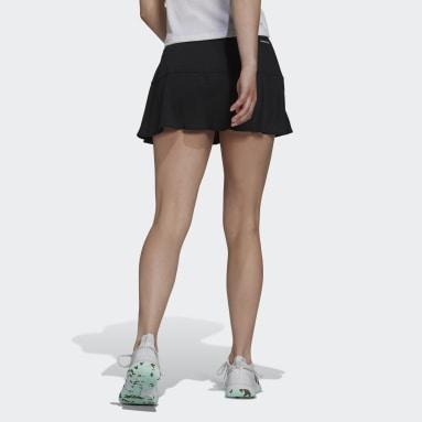 Women's Tennis Black Tennis Match Skirt