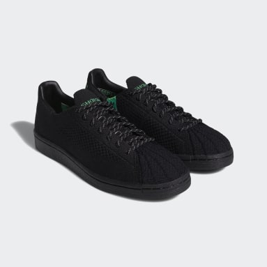 Originals černá Boty Pharrell Williams Primeknit Superstar