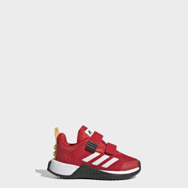 Chaussure adidas x LEGO® Sport Rouge Enfants Running