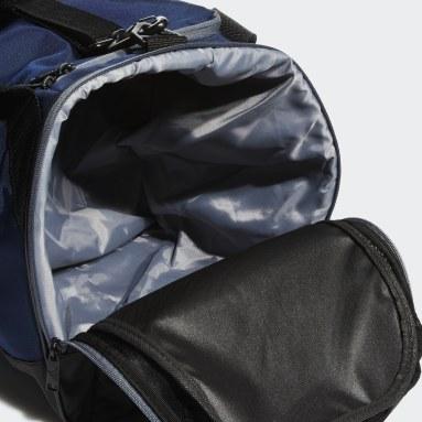 Football Blue Team Issue Duffel Bag Medium