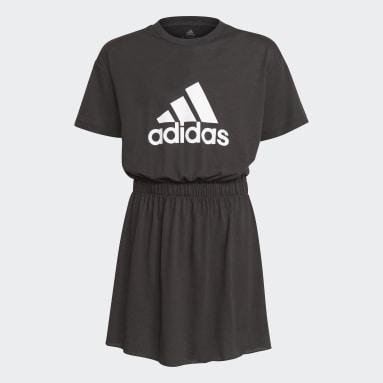 Youth 8-16 Years Gym & Training Black Dance Dress