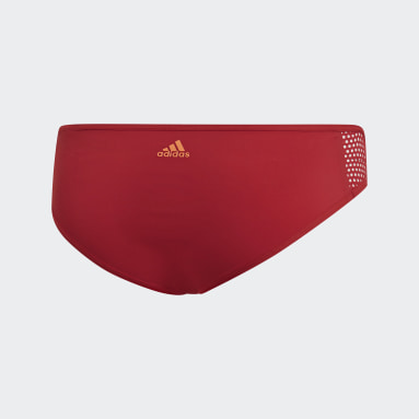 Women Swimming Burgundy Amphi Hipster Bottoms