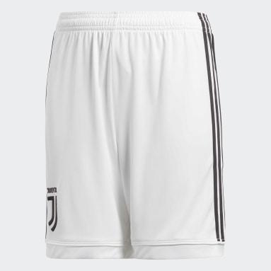 Shorts Juventus Home Replica Blanco Niño Fútbol