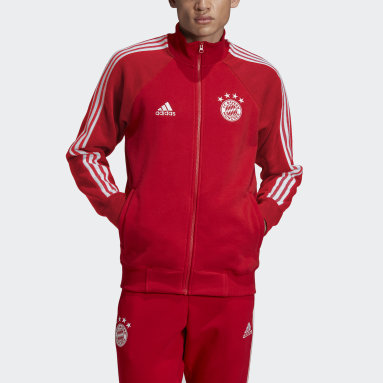 Men Football Red FC Bayern Icons Top
