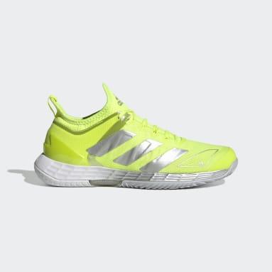 Women Tennis Yellow Adizero Ubersonic 4 Tennis Shoes