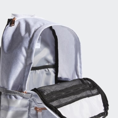 Training White Classic 3-Stripes 3 Backpack