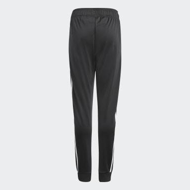 Pantalón de Buzo Adicolor SST Negro Niño Originals
