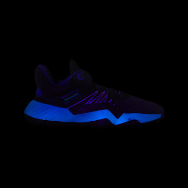 Youth Basketball Black D.O.N. Issue #1 Star Wars Lightsaber Shoes