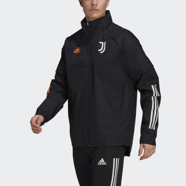 Voetbal Zwart Juventus All-Weather Jack