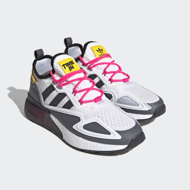 Originals White Ninja ZX 2K Boost Shoes