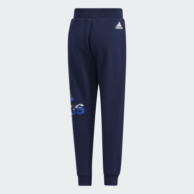 Children Training Blue French Terry Pants