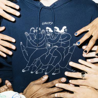 Hoodie Unity (Unisexe) Bleu Originals
