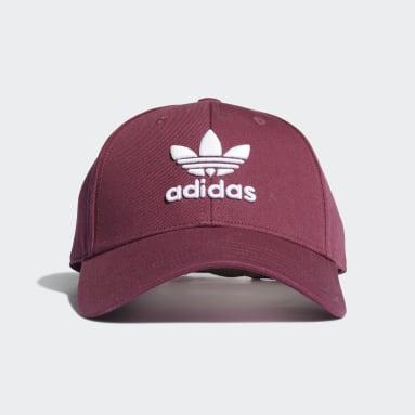 Cappellino Trefoil Baseball Rosso Originals