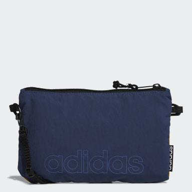 Sport Inspired Blue Classic Satchel