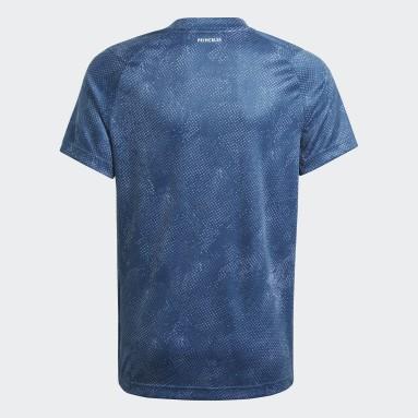 Kluci Tenis modrá Tričko HEAT.RDY Primeblue Tennis Freelift