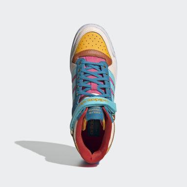 Women Originals Yellow Forum Mid Shoes
