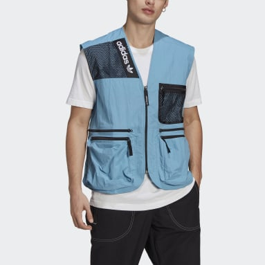 Men Originals Blue adidas Adventure Cargo Vest