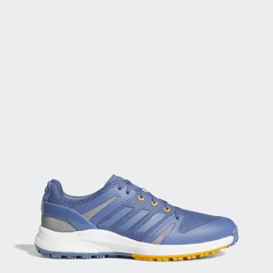 Men's Golf Blue EQT Primegreen Spikeless Shoes