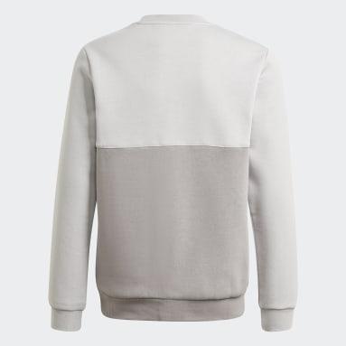 серый Свитшот adidas SPRT Collection