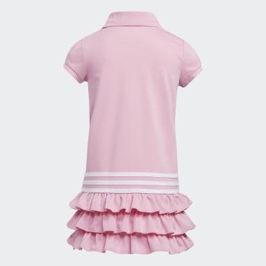 Children Training Pink Polo Dress