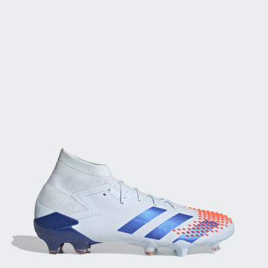 Football Blue Predator Mutator 20.1 Firm Ground Boots