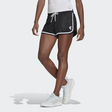 Frauen Tennis Club Tennis Shorts Schwarz