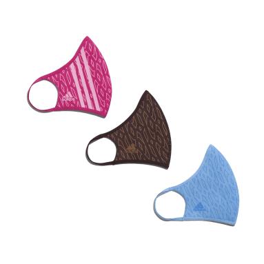 розовый Набор из трех масок на лицо