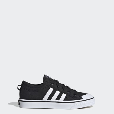 Youth Originals Black Nizza Shoes
