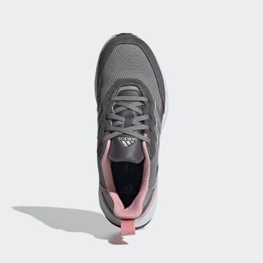Kids Running Grey RapidaRun Elite Shoes