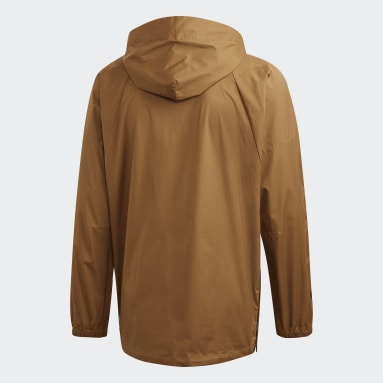 Men Sportswear Brown adidas Athletics Pack W.N.D. Jacket