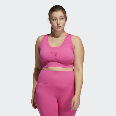 Women Studio Pink Studio Bra (Plus Size)
