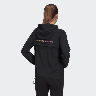 Essentials Gradient Anorak Windbreaker Czerń