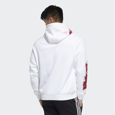 Men Originals White Hoodie