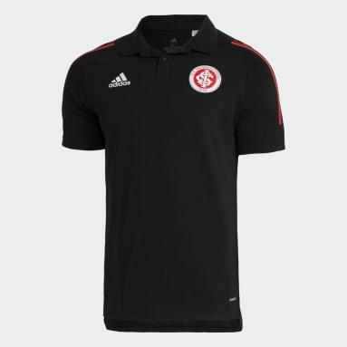 Camisa Polo Internacional Preto Homem Futebol