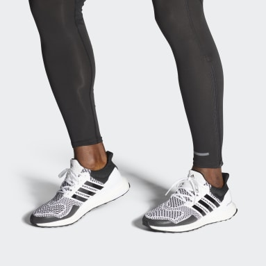 Running White Ultraboost 1 DNA Shoes