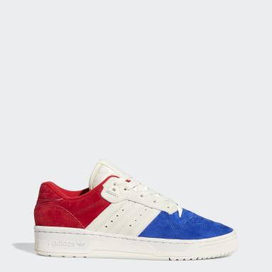 Men Originals Blue Rivalry Low Shoes