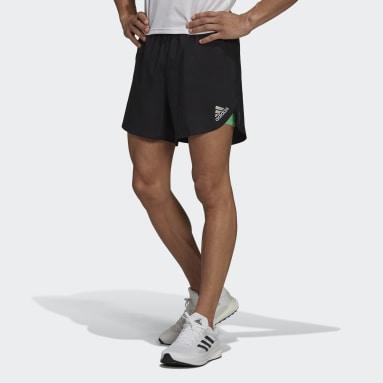Men Running Black adidas Fast 2-in-1 Primeblue Shorts