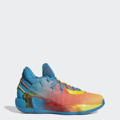 บาสเกตบอล สีเทอร์คอยส์ รองเท้า Dame 7 Avatar