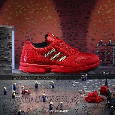 Originals Rød adidas ZX 8000 x LEGO® sko